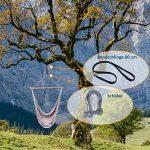 3en 1Kit de fixation, fixation pour fauteuil suspendu: rapide, sûre, propre & Compact de la marque Kliffhänger image 1 produit