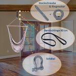 3en 1Kit de fixation, fixation pour fauteuil suspendu: rapide, sûre, propre & Compact de la marque Kliffhänger image 3 produit