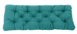 Ambientehome Coussin de banc de jardin EVJE Bleu 120 x 50 x 8 cm 90560 de la marque Ambientehome image 0 produit