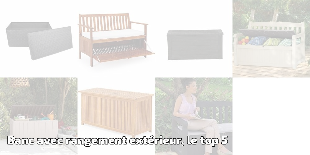 banc avec rangement ext rieur le top 5 pour 2018 meilleur jardin. Black Bedroom Furniture Sets. Home Design Ideas