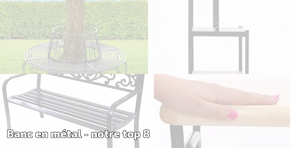 banc en m tal pour 2018 notre top 8 meilleur jardin. Black Bedroom Furniture Sets. Home Design Ideas