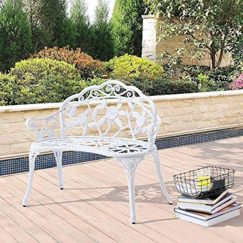 banc jardin m tal acheter les meilleurs mod les pour. Black Bedroom Furniture Sets. Home Design Ideas