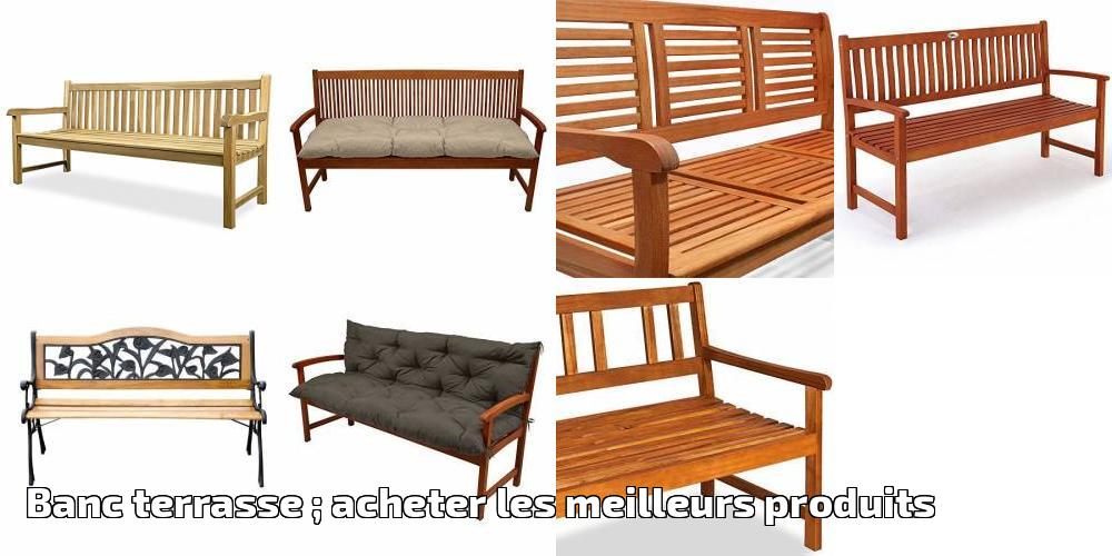 banc terrasse acheter les meilleurs produits pour 2018 meilleur jardin. Black Bedroom Furniture Sets. Home Design Ideas
