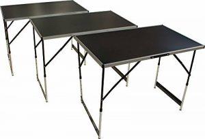Beach & piscine table multi-usages acier 3pièces pliable Table Pliante Table à tapisser marché aux puces Table Table de fête de la marque Beach & Pool image 0 produit