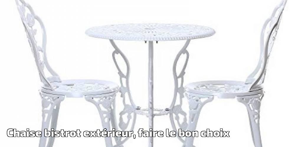 table et chaises Woodside petite taille Bâche//Housse de protection pour salon de jardin style bistrot - imperméable