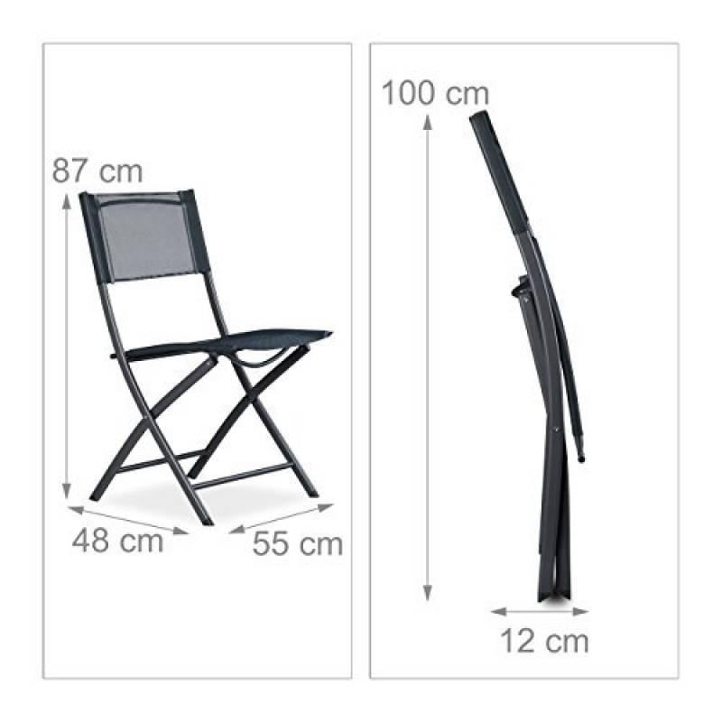 Chaise jardin plastique gris pour 2018 faire le bon for Chaise 87 cm