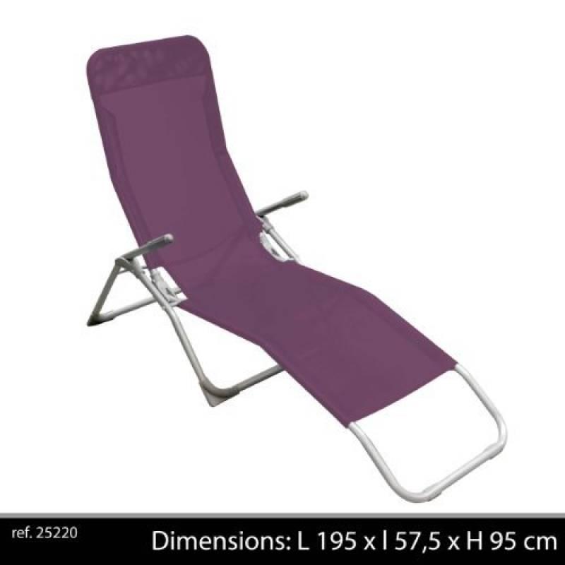 Zero Gravity Chaise Transat Jardin Extérieur Pliable Inclinable Réglable X 2