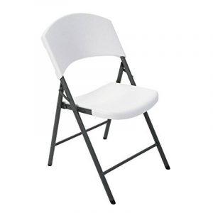 Chaise pliante plastique blanc - comment choisir les meilleurs modèles TOP 2 image 0 produit