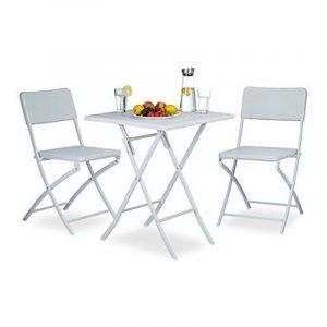 Chaise pliante plastique blanc - comment choisir les meilleurs modèles TOP 3 image 0 produit