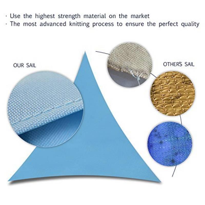 Triangle prot ge soleil acheter les meilleurs produits - Protege soleil terrasse ...