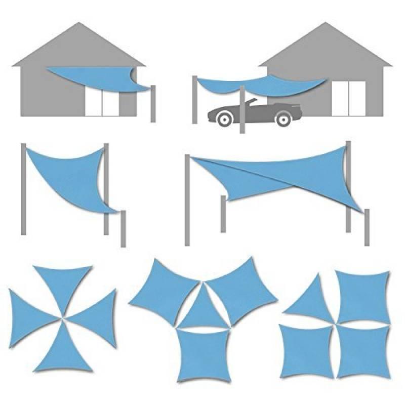toile auvent triangle les meilleurs mod les pour 2018 meilleur jardin. Black Bedroom Furniture Sets. Home Design Ideas