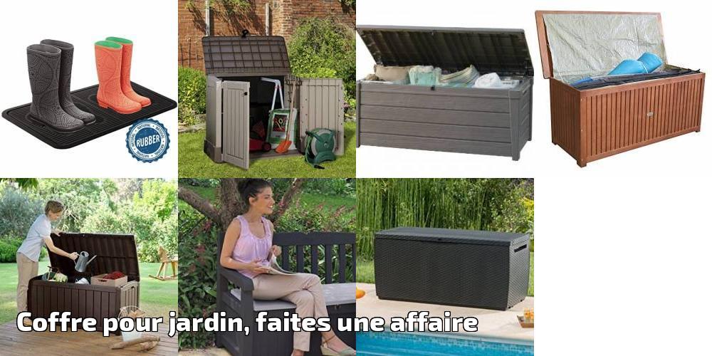 coffre pour jardin faites une affaire pour 2018 meilleur jardin. Black Bedroom Furniture Sets. Home Design Ideas