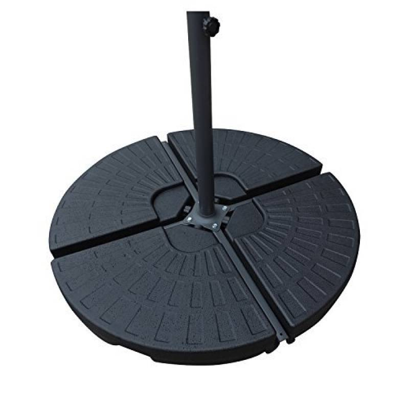dalle pied parasol acheter les meilleurs mod les pour 2018 meilleur jardin. Black Bedroom Furniture Sets. Home Design Ideas