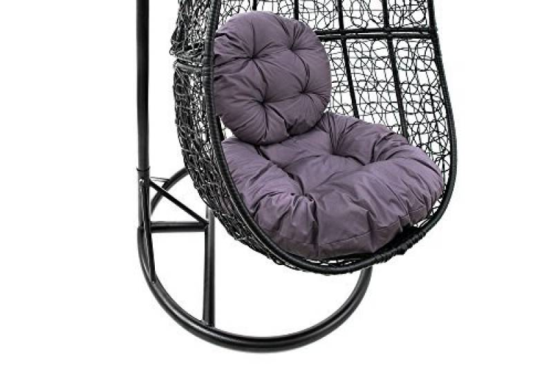 fauteuil suspendu gris votre top 8 pour 2018 meilleur jardin. Black Bedroom Furniture Sets. Home Design Ideas