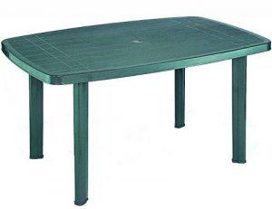 Fun Star Faro Table en plastique 90 x 140 cm Vert de la marque Fun Star image 0 produit