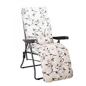 Greemotion 436170Fauteuil relax Passau, dessin, acier/polyester, 100x 59x 97cm, anthracite/multicolore de la marque greemotion image 0 produit