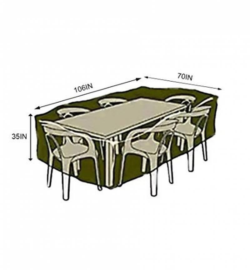 Housse pour table de jardin rectangulaire 180 : trouver les ...