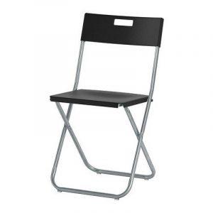 IKEA GUNDE - Folding chair, black by Ikea de la marque Ikea image 0 produit
