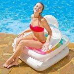Intex 06407 Matelas Fauteuil Pliable Blanc de la marque Intex image 2 produit