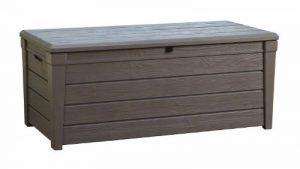Keter 12COFFRELUXE455L Coffre de Rangement pour le Jardin Taupe 455 L de la marque Chalet-Jardin image 0 produit