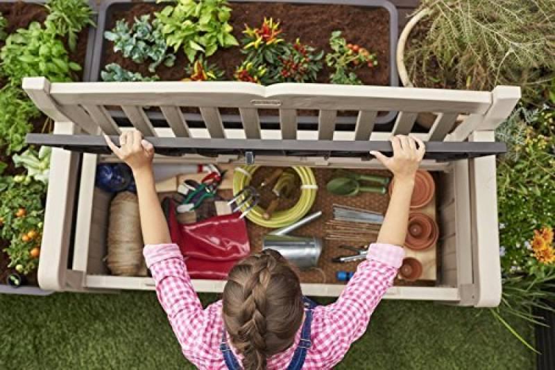 banc de jardin avec rangement pour 2018 faites des affaires meilleur jardin. Black Bedroom Furniture Sets. Home Design Ideas
