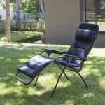 Lafuma Fauteuil Relax, Position réglable, Structure en acier HLE, Air Comfort, Futura, Couleur : Acier, LFM30516135 de la marque Lafuma image 3 produit