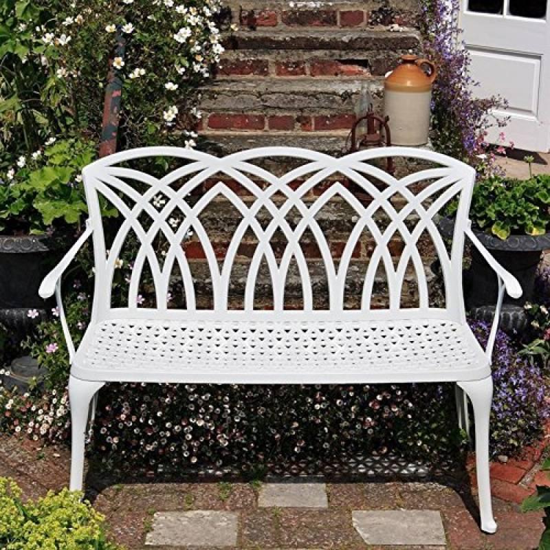 Banc de jardin en aluminium blanc acheter les meilleurs mod les pour 2019 meilleur jardin - Banc de jardin aluminium ...