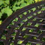 Lazy Susan - Table bistro IVY avec 4 chaises bistro IVY assorties - Salon de jardin en aluminium moulé, Bronze ancien de la marque Lazy Susan image 2 produit
