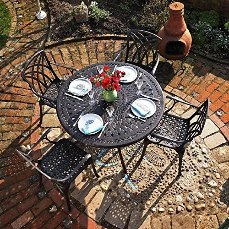 Salon de jardin en fonte ancien pour 2019 - comment choisir les ...