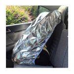 Lorcoo Enfant Baby Kids Siège d'auto Sun Shade Housse de protection pour le soleil, parasol pour bébé Poussettes Poussette, Argent de la marque Lorcoo image 1 produit