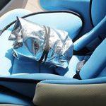 Lorcoo Enfant Baby Kids Siège d'auto Sun Shade Housse de protection pour le soleil, parasol pour bébé Poussettes Poussette, Argent de la marque Lorcoo image 5 produit