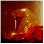 LOTX2 Chemin de Table Lumineux 50 leds Soirés de Fêtes de la marque Générique image 2 produit