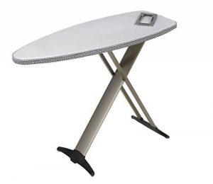 Mabi 2144 Nouveau Mabi Alu 1000 Table à repasser - avec cadre en aluminium - Kettler housse double revêtement aluminium - Légère - Portable - Large - Stable de la marque Mabi-Direct Brands by Mabi GmbH image 0 produit