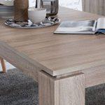 Maisonnerie 1100-162-45 Table de Salle à Manger Extensible Chêne Clair Rugueux LxHxP 160 x 90 x 77 cm de la marque Maisonnerie image 4 produit