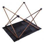 OUTAD Table de Camping / Pique-nique Pliable et Portable en Alliage d'aluminium de la marque OUTAD image 2 produit