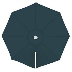 PARAMONDO Toile de rechange pour parasol avec Air Vent pour parasol à mât excentré Parapenda (3,5m / ronde), verte de la marque PARAMONDO image 0 produit
