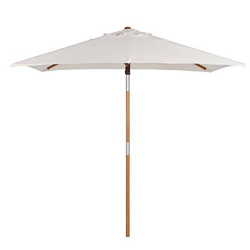 parasol blanc rectangulaire top 10 pour 2018 meilleur jardin. Black Bedroom Furniture Sets. Home Design Ideas