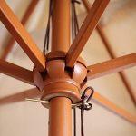 Parasol en bois ; trouver les meilleurs produits TOP 1 image 2 produit