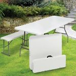 ProBache - Table pliante portable 180 cm et 2 bancs pliables pour camping buffet de la marque Probache image 5 produit
