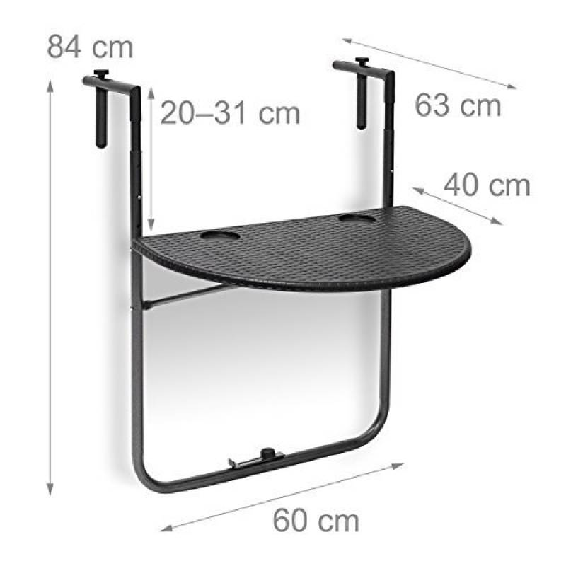Table ronde plastique pliante notre top 11 pour 2018 - Table ronde de balcon ...