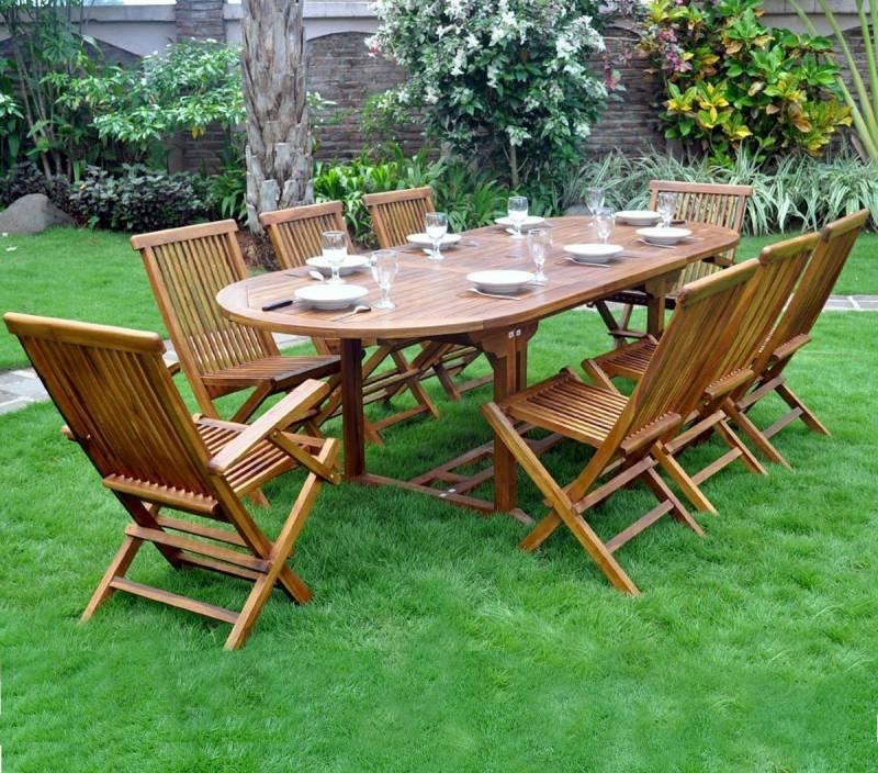 Salon de jardin en teck huilé, votre top 12 pour 2019 ...