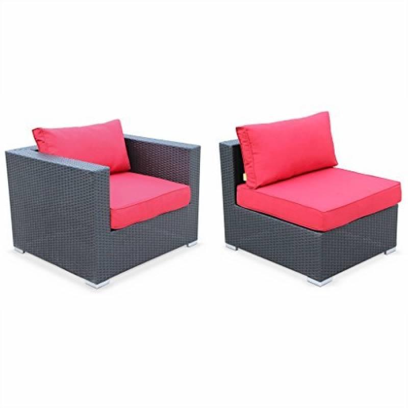 salon de jardin rouge comment acheter les meilleurs produits pour 2018 meilleur jardin. Black Bedroom Furniture Sets. Home Design Ideas