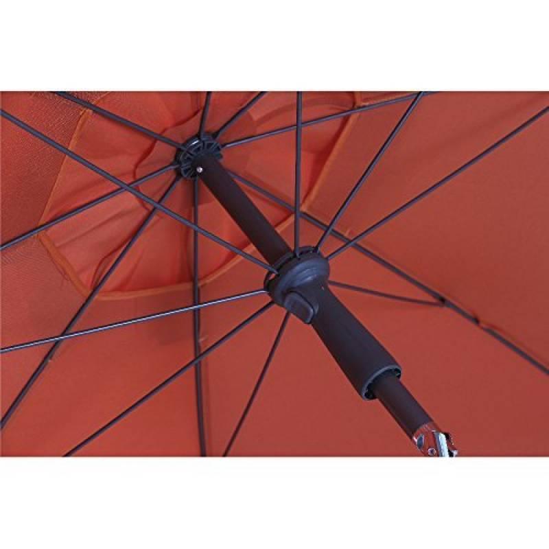 parasol orange faites une affaire pour 2018 meilleur jardin. Black Bedroom Furniture Sets. Home Design Ideas