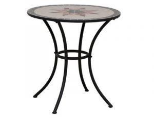 Siena Garden 875346 Stella Table Acier Noir/Mosaïque 70 cm de la marque Siena Garden image 0 produit