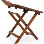 Table basse pliante en bois - Tables jardin d'appoint - 46x46cm pliable - Acacia de la marque Deuba image 2 produit