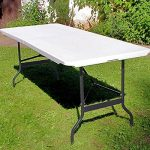 Table camping buffet traiteur pliante portable de la marque Deuba image 1 produit