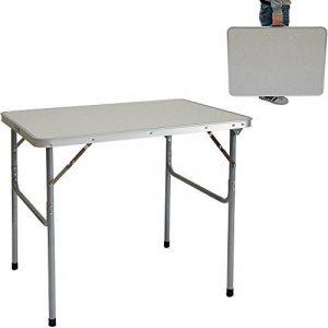 Table de Camping Portable Pliante en Mallette Table de pique-nique Structure en Acier |env 80x60x70cm de la marque AMANKA image 0 produit