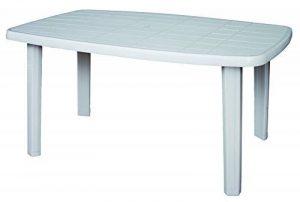 Table de jardin plastique blanc - les meilleurs modèles TOP 2 image 0 produit
