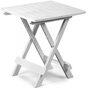 Table de jardin plastique blanc - les meilleurs modèles TOP 4 image 0 produit