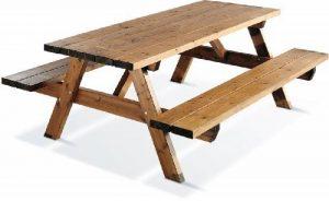 Table de pique-nique en bois Garden 200 de la marque JARDIPOLYS image 0 produit